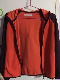 🚚 Fleece jacket with hoodie