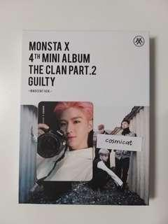 Monsta X 4th Mini Album The Clan Pt. 2 Guilty