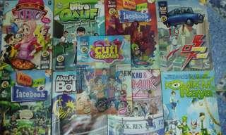 Komik / Comics Komik-M ( Orang Kuat , Raya ,Ultra Qalif , etc )