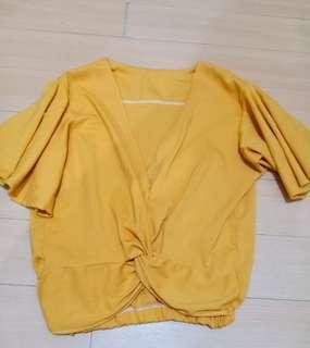 Summer mustard top