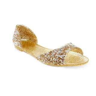 Anna Nucci italy Jelly 黃水晶果凍鞋