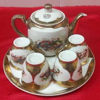 Vintage 1960/70s tea set (complete)