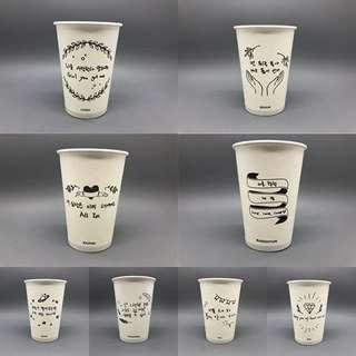 EXO paper cups