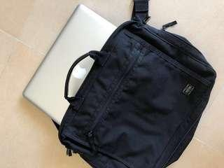 Porter briefcase used porter公事包