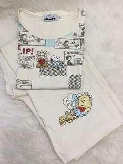 Snoopy pajama set