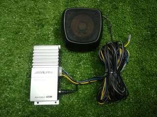 Alpine Center Speaker Set