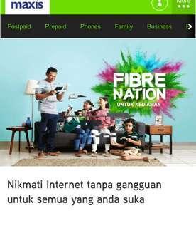 MaxisONE Home Fibre