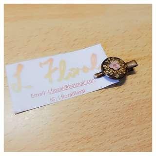 花花髮夾 🌸 The floral hair clip 🌸