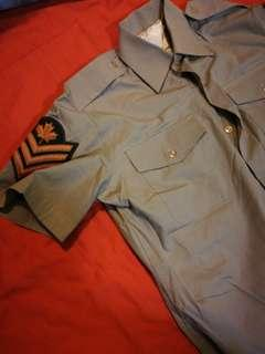 Canadian army shirt
