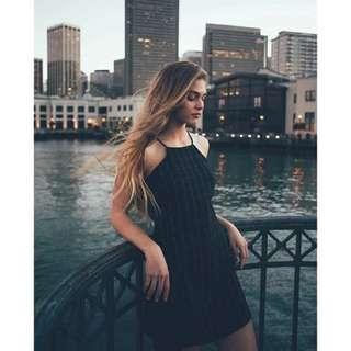 🚚 ✔ INSTOCK Sleeveless A Line Dress