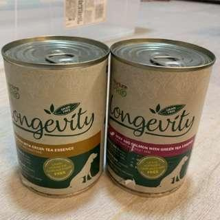 🚚 Nurture Pro Longevity Beef & Salmon with Green Tea Essence Grain Free Canned Dog Food 375g #springcleanandcarousell50