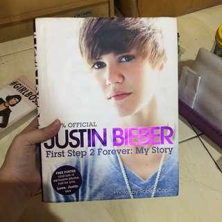 first step 2 forever justin bieber book (english) HARDCOVER #CNY2019