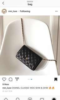 Chanel WOC Caviar Leather (wallet on chain)