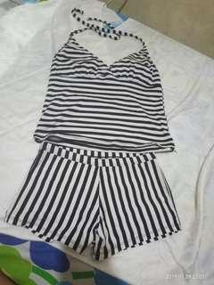Baju renang stripes