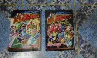 Komik / Comics Battle B-Daman