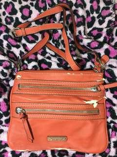 NINE WEST ORANGE CROSSBODY BAG