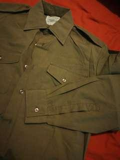 英軍 no 2 dress shirt