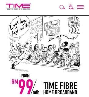 TIME Fibre Home