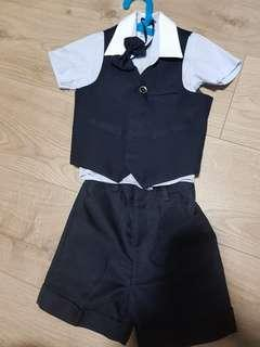 🚚 Boy Suit top and bottom