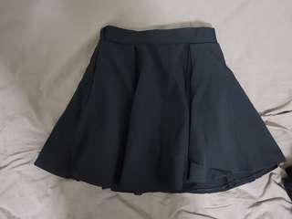 🚚 Sixties black skater skirt