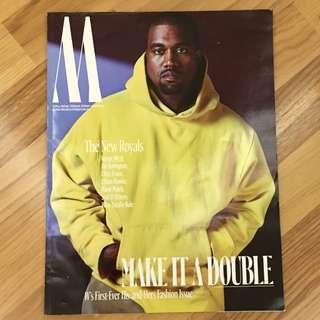 W Magazine Oct 2016 - Kanye West