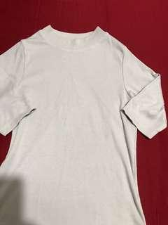 Gray 3/4 sleeves