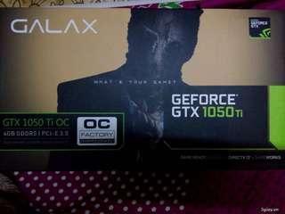 Galax gtx1050ti 4GB ddr5 OC