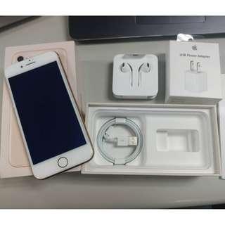Apple IPhone 8 金 64G 完整配件 澳洲買的(保固內)
