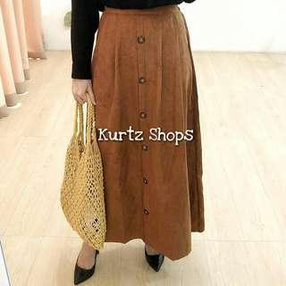 Basic Corduroy Skirt