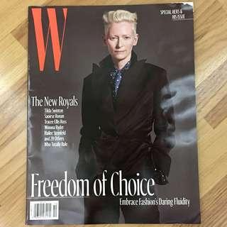 W Magazine Oct 2017 - Tilda Swinton / The New Royals