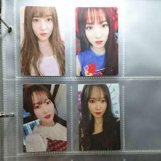 Gfriend Yuju 小卡 photo card 正版專輯