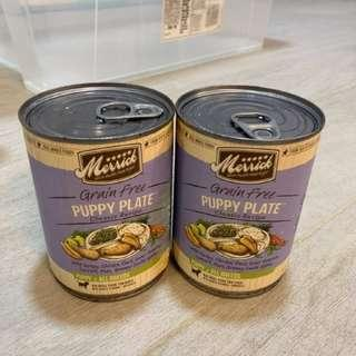 🚚 Merrick Classic Grain Free Puppy Plate Recipe Canned Dog Food #springcleanandcarousell50
