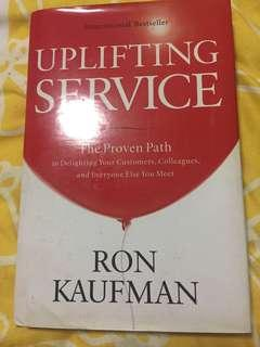 Uplifting service by Ron Kaufman