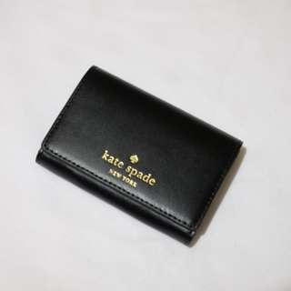 Kate Spade Christine Small Wallet Card Smooth Leather Black [RESTOCKED]