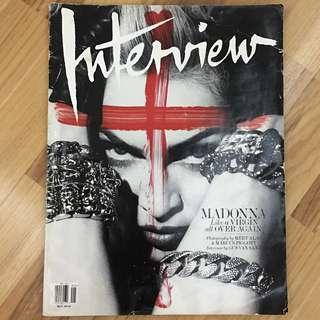 Interview Magazine May 2010 - Madonna