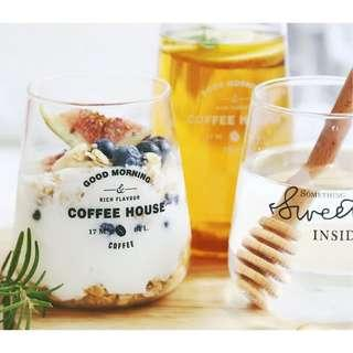 🚚 (Ready stocks) Dewdrop drinking glasses