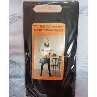 超伸縮保暖褲襪(黑色)