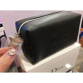 🚚 迪奧Dior黑色化妝小包