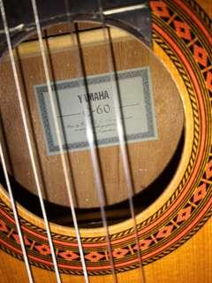 Yamaha c60 古典結他