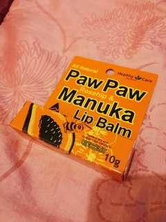 Brand New Healthy Care Paw Paw Rosehip and Manuka Lip Balm