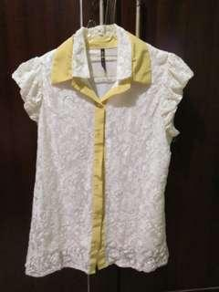 #CNY2019 kemeja kain putih bisa barteran