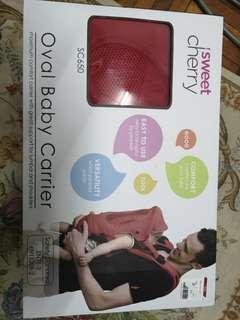 Baby Carrier Sweet Cherry Red