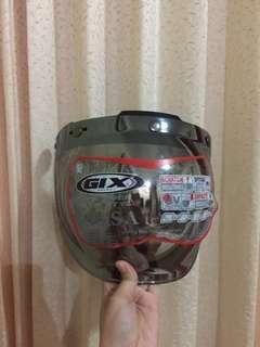 Bubble visor chrome helm (free engsel)
