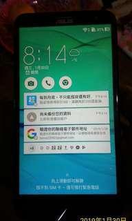 賣賣賣*華碩6吋ASUS ZE601KL 3G+32G,Samsung、SONY、VIVO、OPPO參考