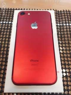 紅色(紅) apple I phone 7 IPhone 7 IPhone7 I7 4.7寸 128g