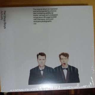 已使用 約90%新 Pet Shop Boys - 2CD Actually / Further Listening 1987-1988 (附相片集)