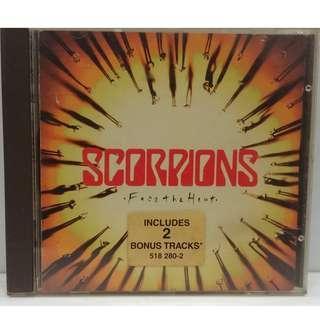 SCORPIONS FACE THE HEAT CD