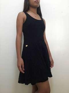 Candies - Black Lace Dress
