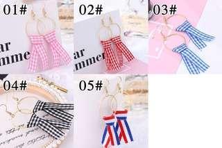 Korean Cloth Earrings