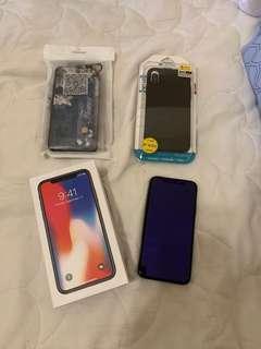 賣IPhone X 256G 黑色9成新